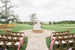 Old American Ceremony Set Up