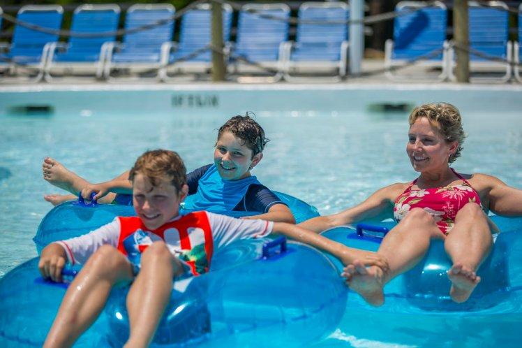 Hawaiian Falls Family Fun