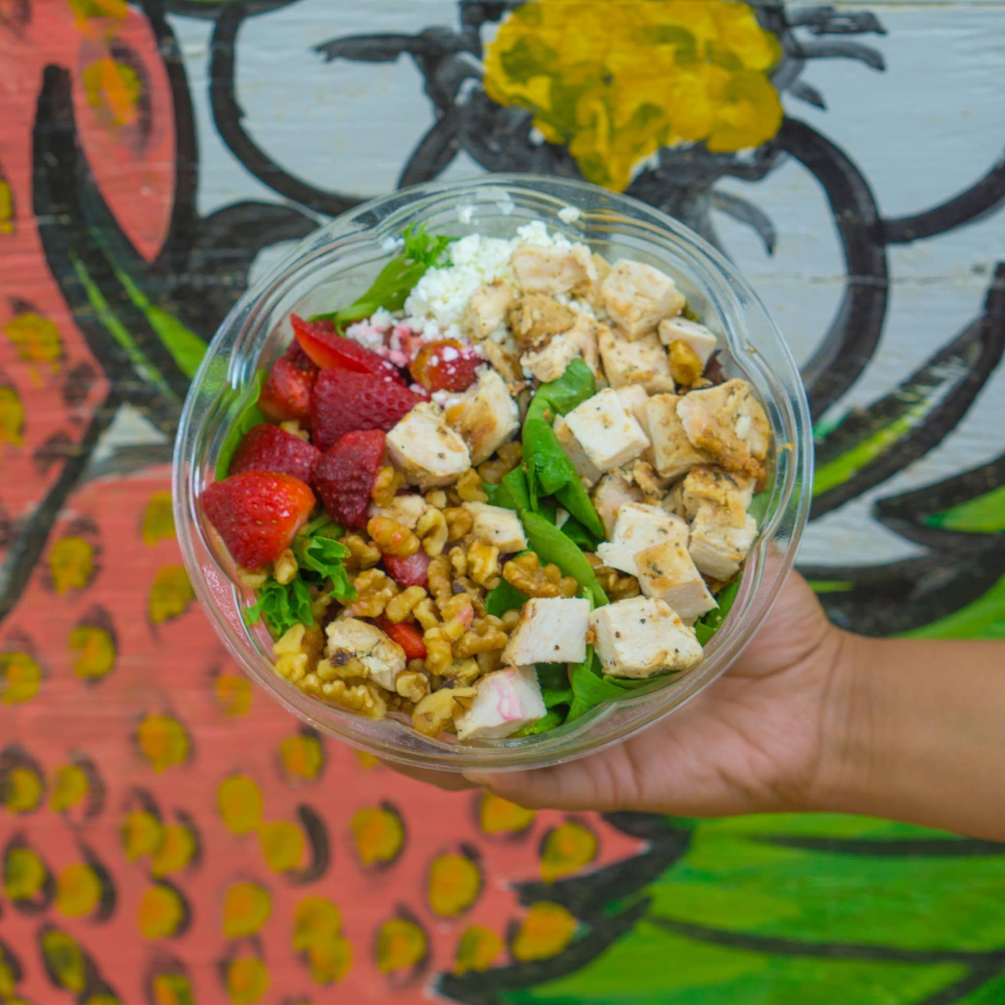 Salad from Bread Zeppelin